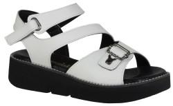 Su Perisi - Su Perisi 011 Ortopedi Günlük Beyaz Bayan Sandalet (36-40)