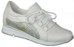 Su Perisi - Su Perisi Ortopedi Beyaz Günlük Bayan Spor Ayakkabı (36-40)