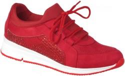 Su Perisi - Su Perisi Ortopedi Kırmızı Günlük Bayan Spor Ayakkabı (36-40)