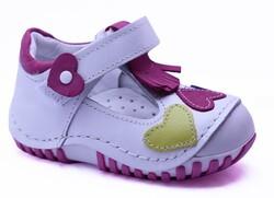 Teo Bebe - Teo Bebe 108 Hakiki Deri Ortopedi Kız Çocuk İlkadım Ayakkabı