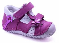 Teo Bebe - Teo Bebe 109 Hakiki Deri Ortopedi Kız Çocuk İlkadım Ayakkabı