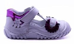 Teo Bebe - Teo Bebe 110 Hakiki Deri Ortopedi Kız Çocuk İlkadım Ayakkabı