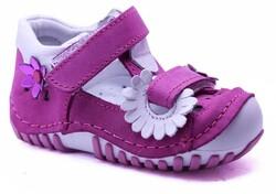 Teo Bebe - Teo Bebe 111 Hakiki Deri Ortopedi Kız Çocuk İlkadım Ayakkabı