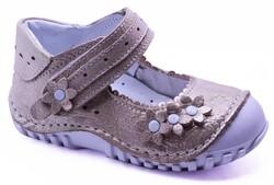 Teo Bebe - Teo Bebe 113 Hakiki Deri Ortopedi Kız Çocuk İlkadım Ayakkabı