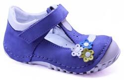 Teo Bebe - Teo Bebe 115 Hakiki Deri Ortopedi Kız Çocuk İlkadım Ayakkabı