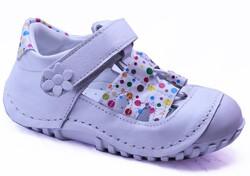 Teo Bebe - Teo Bebe 116 Hakiki Deri Ortopedi Kız Çocuk İlkadım Ayakkabı