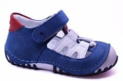 Teo Bebe - Teo Bebe 119 Hakiki Deri Ortopedi Erkek Çocuk İlkadım Ayakkabı