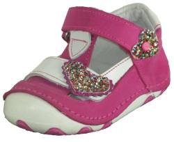 ISPARTALILAR - Teo Bebe Ortopedi Hakiki Deri Kız Bebe İlk Adım Ayakkabı (18-24)