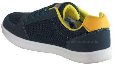 Tracker Ortopedi Rahat Füme Erkek Bayan Spor Ayakkabı (36-40)