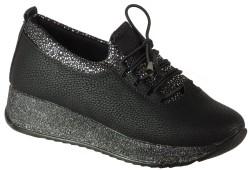 Vetta - Ulusoy 108 Ortopedik Siyah Kız Çocuk Okul Ayakkabısı (31-35)