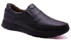 Ulusoy - Ulusoy 301 Ortopedi Topuk Masajlı Hakiki Deri Kışlık Erkek Ayakkabı