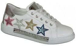 Vetta - Vetta ortopedi Beyaz VE Siyah Kız Çocuk Spor Ayakkabı (31-35)