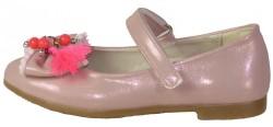 Vetta Ortopedi Abiye Siyah Kız Çocuk Babet Ayakkabı (26-30) - Thumbnail