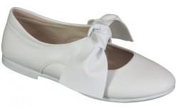 Vetta - Vetta Ortopedi Rahat Beyaz Çocuk Kız Babet Ayakkabı (31-36)