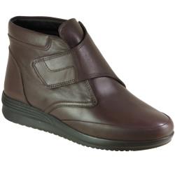 Riccardo Colli - Voog 2004 Hakiki Yumuşak Deri Cırtlı Anne Kadın Bot Ayakkabı