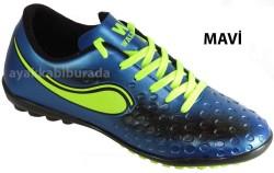 DİĞER - Walked Mavi Halısaha Krampon Erkek Spor Ayakkabı (28-44)