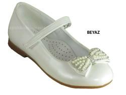 ISPARTALILAR - Welch Ortopedi Beyaz Kız Çocuk Babet Ayakkabı (26-36)