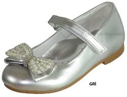 ISPARTALILAR - Welch Ortopedi Gri Kız Çocuk Babet Ayakkabı (26-36)