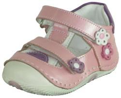 ISPARTALILAR - Welch Ortopedi Hakiki Deri Kız Bebe İlk Adım Ayakkabı (18-24)