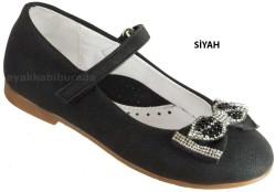 DİĞER - Welch Ortopedi Siyah Kız Çocuk Babet Ayakkabı (26-36)