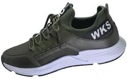 Wickers 2245 Suya Dayanıklı Ortopedi Rahat Haki Erkek Spor Ayakkabı - Thumbnail