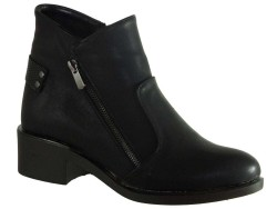ISPARTALILAR - witty 121 Rahat Düz Taban Siyah Bayan Bot Ayakkabı