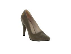 ISPARTALILAR - Witty 125 Rahat Taban Nubuk Deri Bayan Stiletto Ayakkabı
