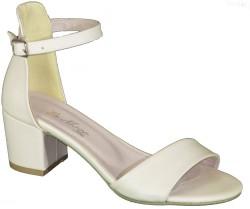 ISPARTALILAR - Witty 898 Rahat Siyah Bayan Geniş Topuklu Ayakkabı Sandalet (36-40)