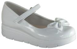 Yükseliş Bebe - Yükseliş Ortopedi Beyaz Kız Çocuk Babet Ayakkabı (30-36)