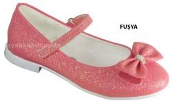 DİĞER - Yükseliş Ortopedi Fuşya Kız Çocuk Babet Ayakkabı (26-35)