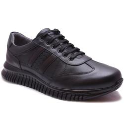 Ayakkabiburada - Ayakkabiburada 117 Ortopedi Kauçuk Taban Deri Kışlık Erkek Ayakkabı (40-44)
