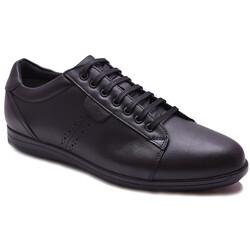 Ayakkabiburada - Ayakkabiburada 119 Ortopedi Kauçuk Taban Deri Kışlık Erkek Ayakkabı (40-44)