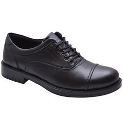 ISPARTALILAR - 7576 Ortopedi Hakiki Deri Kaymaz Taban Kışlık Erkek Ayakkabı (40-45)
