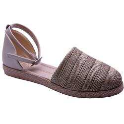 Ayakkabiburada - Ayakkabiburada 032-1 Ortopedi Önü Kapalı Günlük Kadın Sandalet