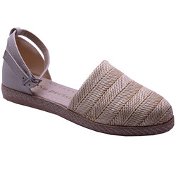 Ayakkabiburada - Ayakkabiburada 032-2 Ortopedi Önü Kapalı Günlük Kadın Sandalet