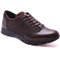 Ayakkabiburada - Ayakkabiburada 1655 Ortopedi Hakiki Deri Kışlık Erkek Ayakkabı