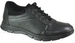 ISPARTALILAR - Ayakkabiburada 1754 Hakiki Deri Siyah Erkek Kışlık Ayakkabı Bot (40-44)