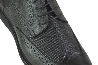 Ayakkabiburada 1756 Hakiki Deri Ortopedi Siyah Erkek Ayakkabı