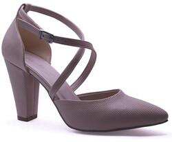 Ayakkabiburada - Ayakkabiburada 201 Abiye Kadın Topuklu Ayakkabı