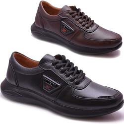 Ayakkabiburada - Ayakkabiburada 2021-310 Tam Ortopedi Hakiki Deri Erkek Ayakkabı