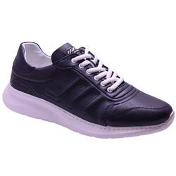 Ayakkabiburada - Ayakkabiburada 2021-311 Ortopedi Hakiki Deri Erkek Ayakkabı