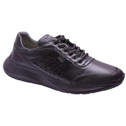Ayakkabiburada - Ayakkabiburada 2021-318 Ortopedi Hakiki Deri Erkek Ayakkabı