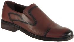 ISPARTALILAR - Ayakkabiburada 24 Hakiki Deri Taba Erkek Klasik Ayakkabı (40-44)