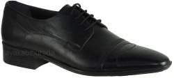 ISPARTALILAR - Ayakkabiburada 30 Hakiki Deri Siyah Erkek Klasik Ayakkabı (40-44)