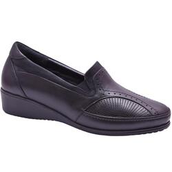 Ayakkabiburada - Ayakkabiburada 404 Ortopedi Hakiki Deri Kadın Ayakkabı