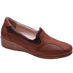 Ayakkabiburada - Ayakkabiburada 404 Ortopedi Rahat Hakiki Deri Kadın Ayakkabı