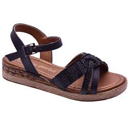 Ayakkabiburada - Ayakkabiburada 45 Rahat Günlük Kadın Sandalet