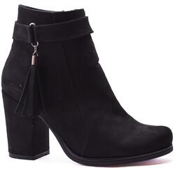Ayakkabiburada - Ayakkabiburada 502 Günlük Kadın Topuklu Bot Ayakkabı