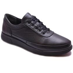 Ayakkabiburada - Ayakkabiburada 90 Ortopedi Esnek Taban Deri Kışlık Erkek Ayakkabı