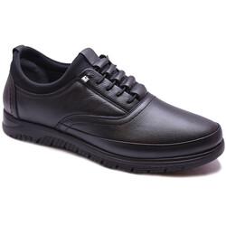 Ayakkabiburada - Ayakkabiburada 91 Ortopedi Esnek Taban Deri Kışlık Erkek Ayakkabı